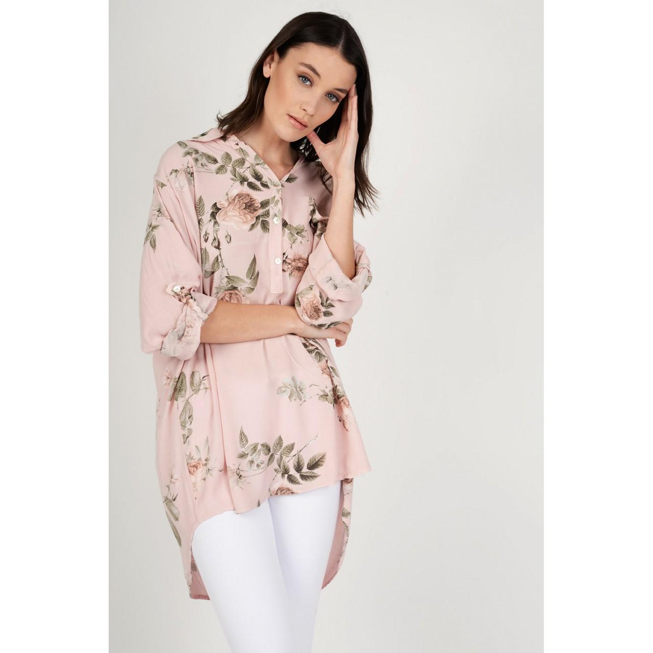 3c87dbff4f6a Oversized πουκαμίσα floral
