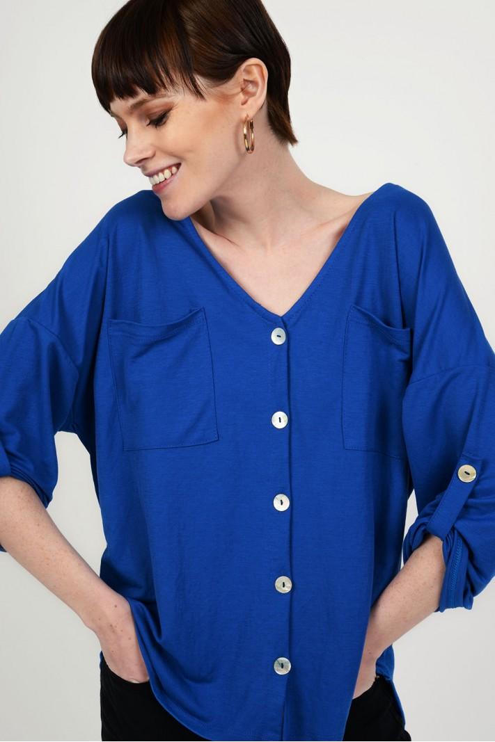 41df0706efcf Oversized μπλούζα πουκαμίσα