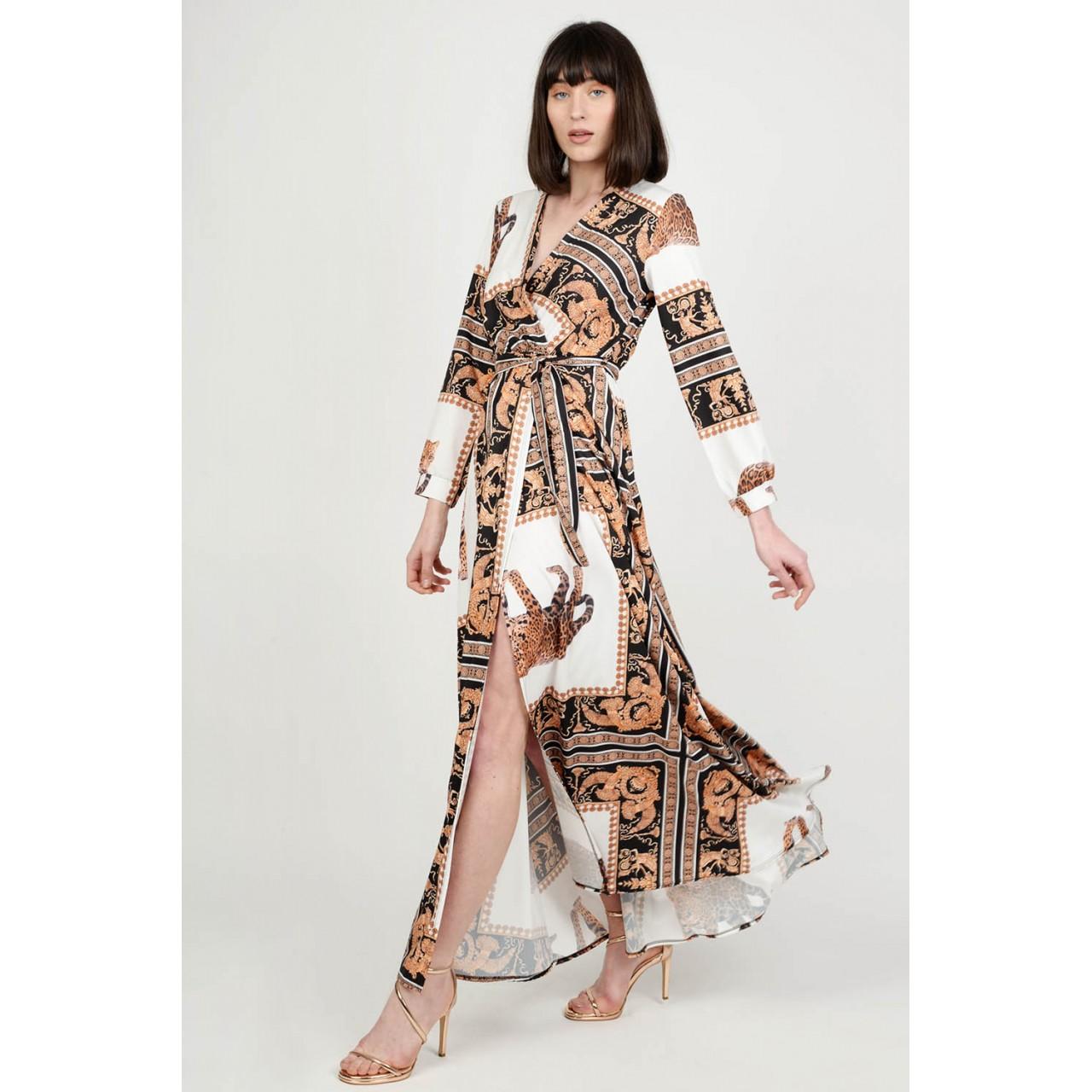 be1d0326df7c Φόρεμα maxi εμπριμέ Limited Edition