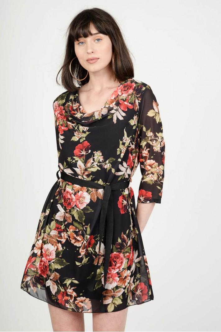 95fabb4e3cc0 Φόρεμα mini floral