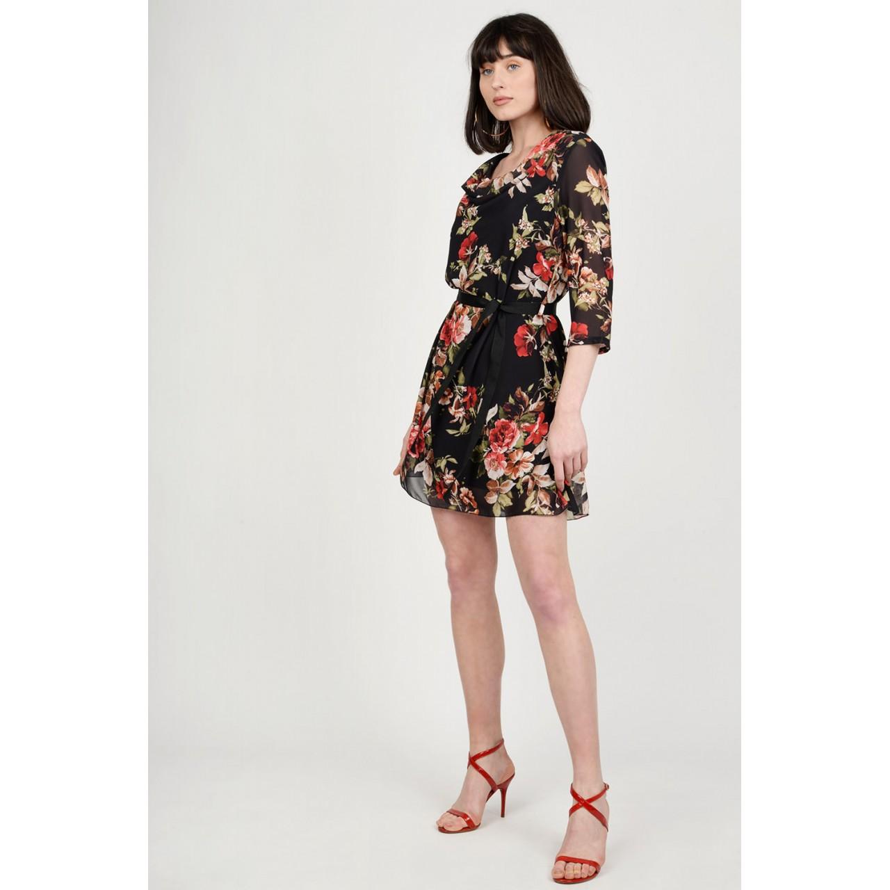 68082689e560 Φόρεμα mini floral