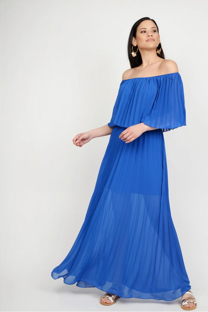 1208d68f5a0 Φόρεμα strapless πλισέ Limited Edition