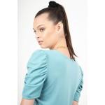 Ruffled blouse