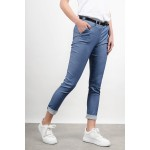Chino pant with belt