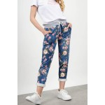 Floral pant with pockets