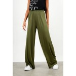 High waist elastic pant