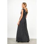 Maxi polka dotted dress