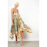 Floral asymmetrical dress