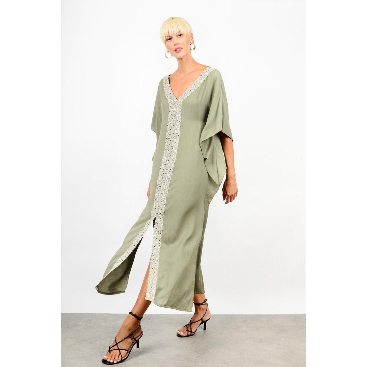 Linen caftan/dress