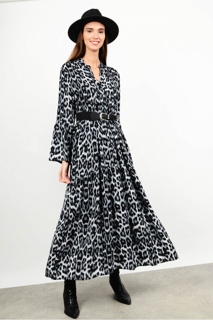 Maxi printed dress Limited Edition