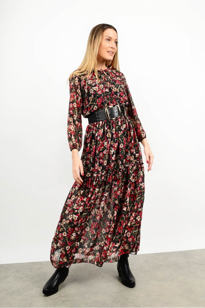 Maxi floral dress Limited Edition