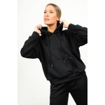 Tracksuit set with embossed pattern