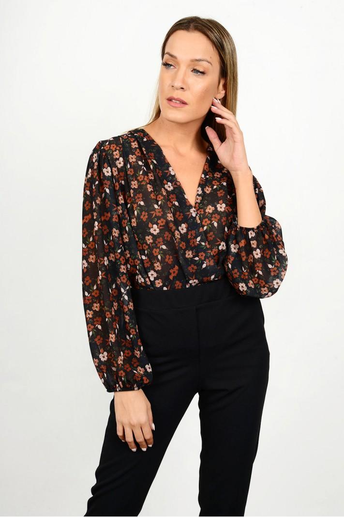 Floral body shirt