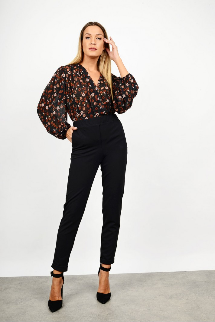 High waist office pant