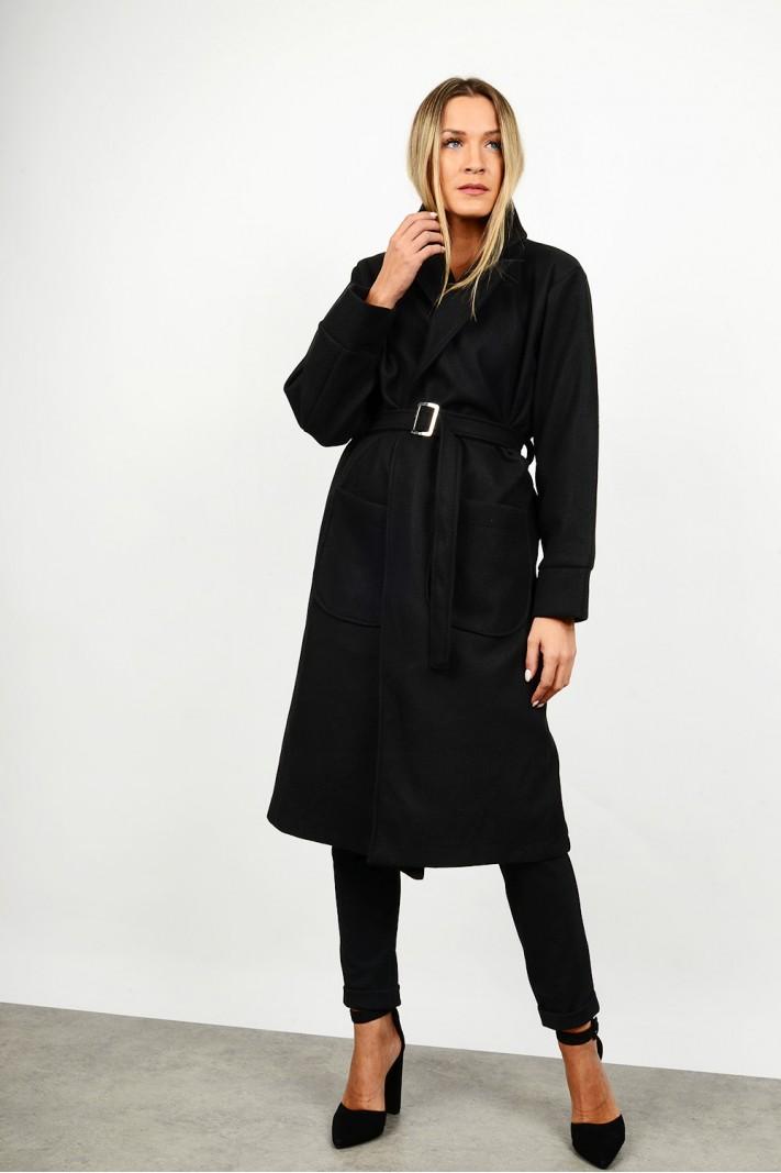 Cardigan/Coat with belt & pocket