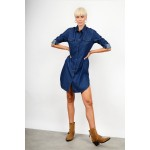 Oversized shirt/dress jean