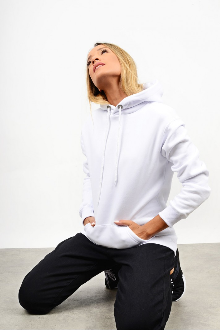 Sweatshirt hooded blouse