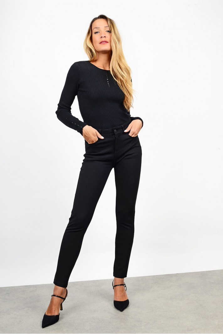 High waist push-up pant + plus sizes