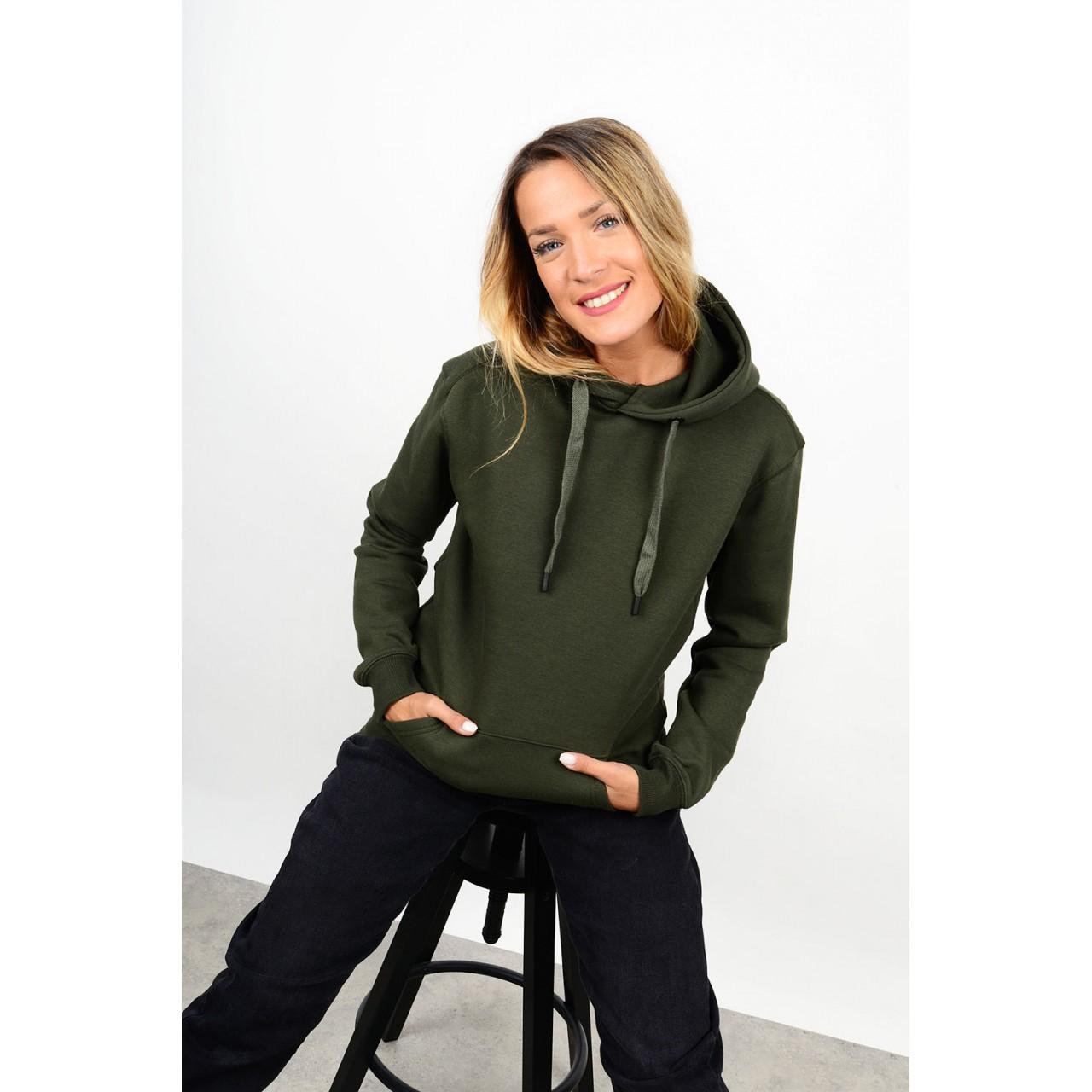 Sweatshirt hooded blouse
