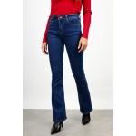 Push-up high waist flare jean