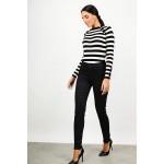 High waist push-up jean + plus sizes