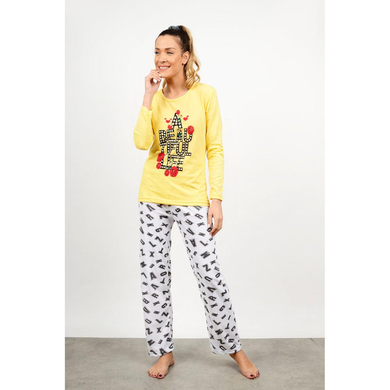 Set pyjamas with pattern