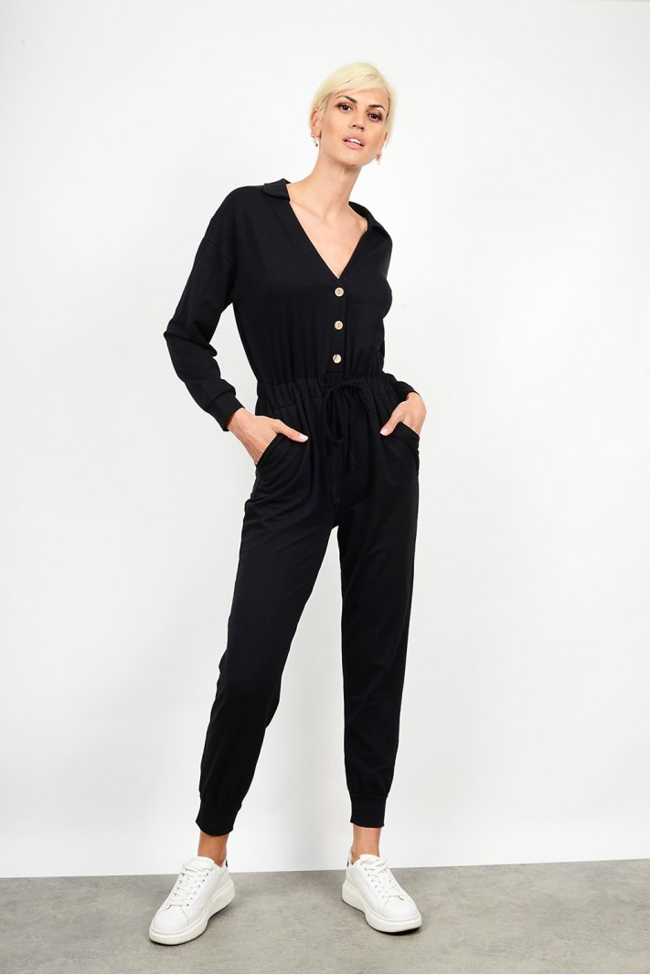 Jumpsuit with buttons