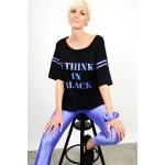 Set blouse with legging & gift srunchie