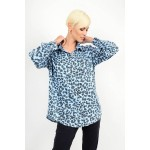 Oversized animal print jean shirt Limited Edition