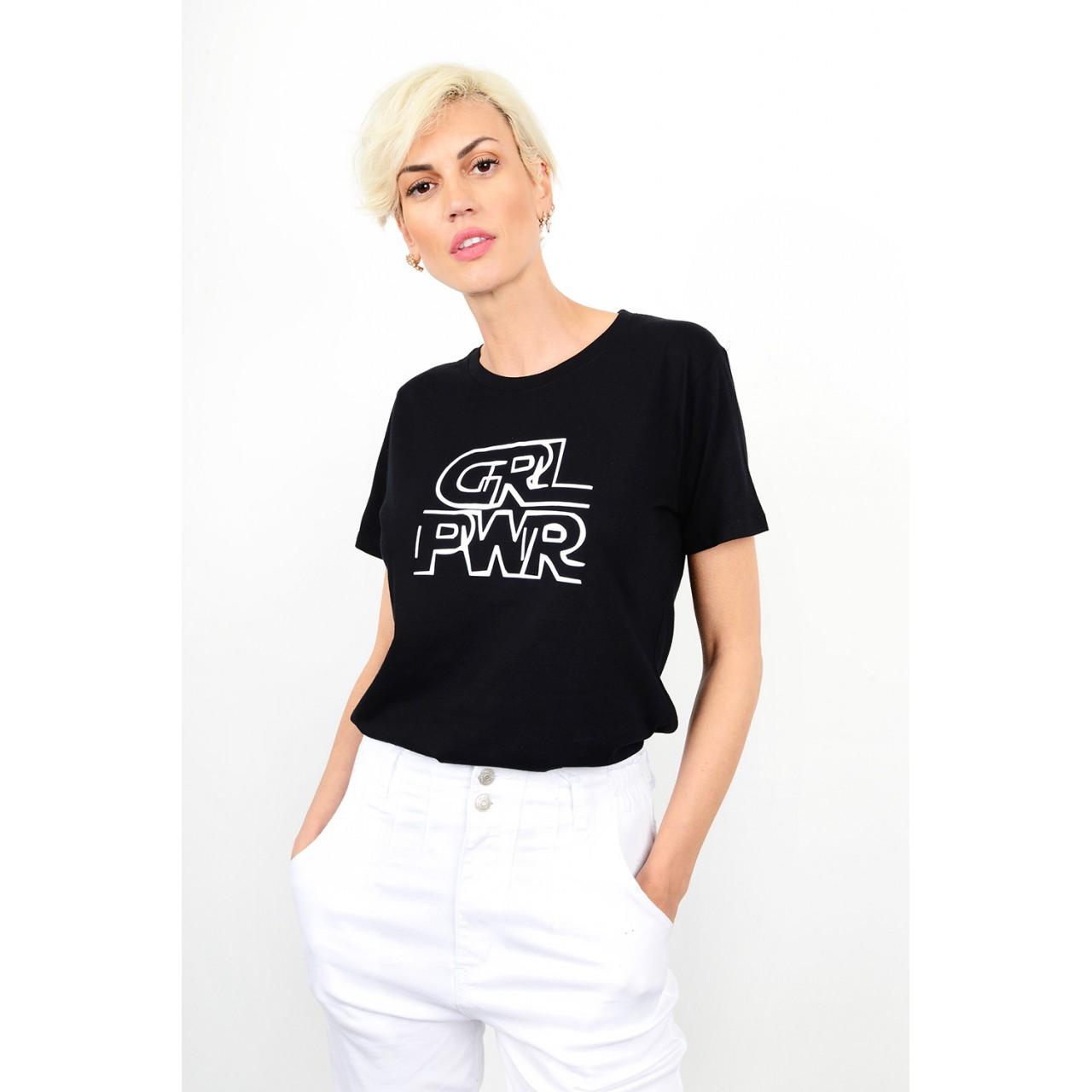 178.T-Shirt με στάμπα