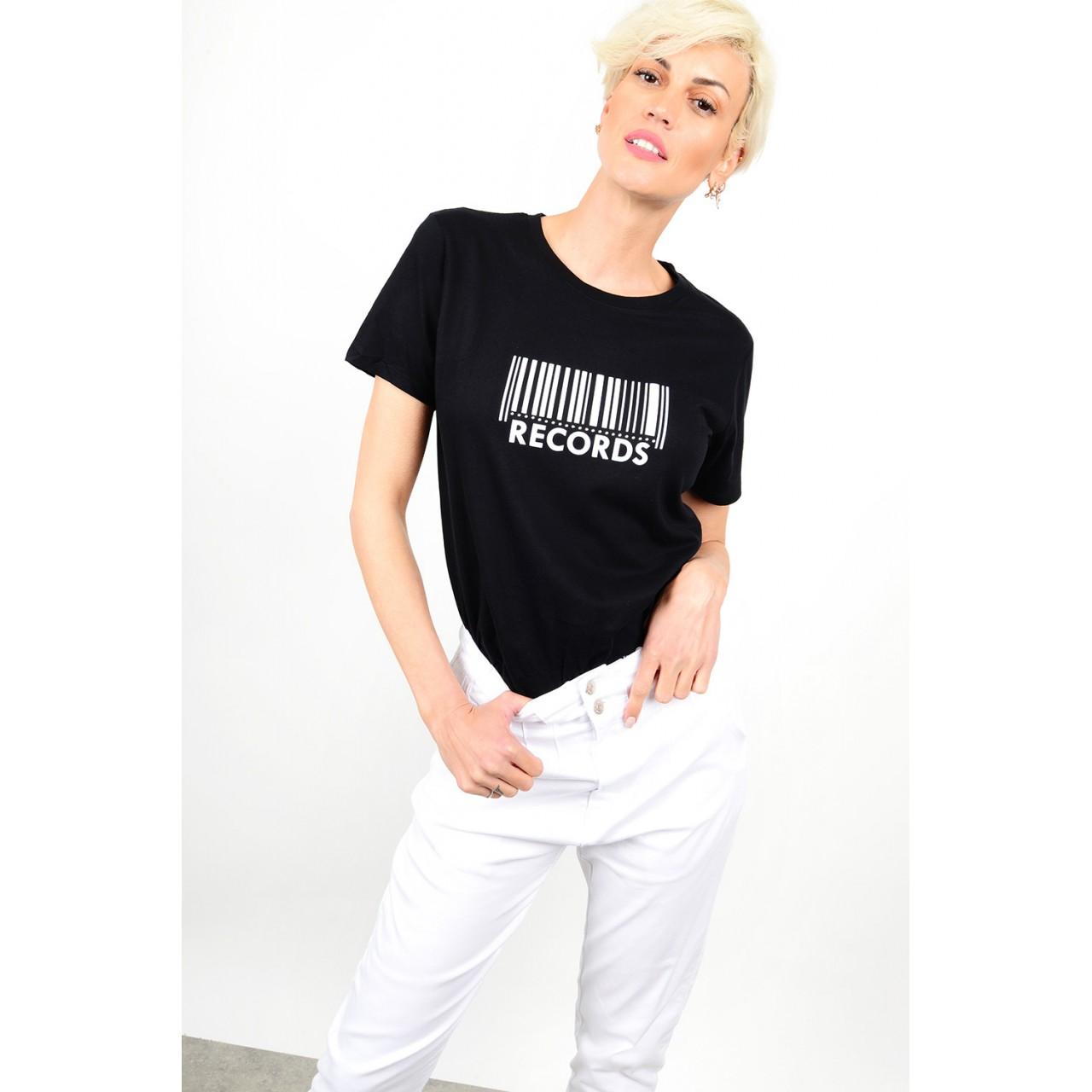 180.T-Shirt με στάμπα