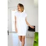 203.Μπλούζα/Φόρεμα αμάνικο με κουκούλα