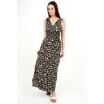 425.Φόρεμα μακρύ φλοράλ με λάστιχο