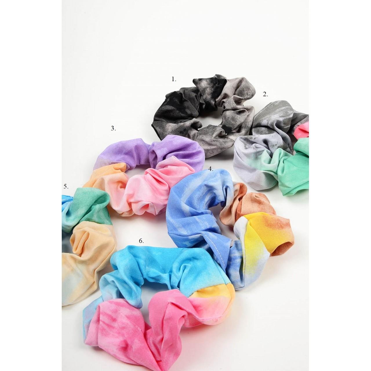 680.Λαστιχάκια μαλλιών tie dye